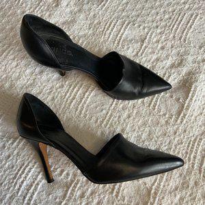 Vince Claire black leather d'orsay pumps size 8.5